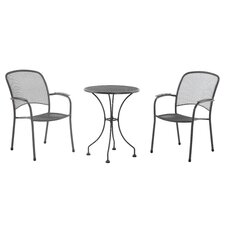 Carlo 3 Piece Round Dining Set