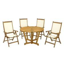 Henley 5 Piece Round Dining Set