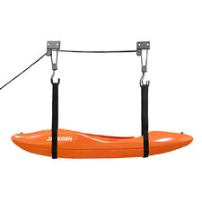 Kayak Lift Hoist Garage Ladder Canoe Hoists