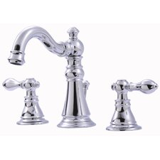 <strong>Ultra Faucets</strong> Widespread Bathroom Faucet with Double Handles