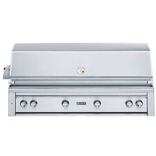 "54"" Built-In Gas Grill with ProSear2 - Rotisserie Burner"