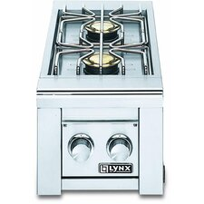 Built-In Double Side Burner