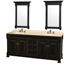 "Andover 80"" Double Vanity Set"