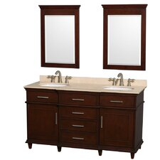 "Berkeley 60"" Double Vanity Set"