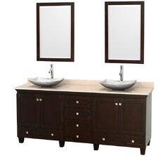 "Acclaim 80"" Double Bathroom Vanity Set"