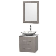"Centra 24"" Single Bathroom Vanity Set"