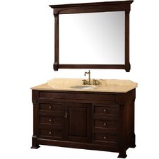 "<strong>Wyndham Collection</strong> Andover 55"" Bathroom Vanity Set"