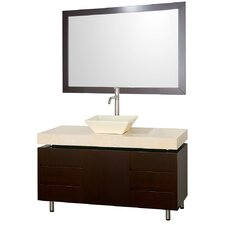 "Malibu 48"" Bathroom Vanity Set with Single Sink"