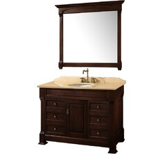 "<strong>Wyndham Collection</strong> Andover 48"" Bathroom Vanity Set"