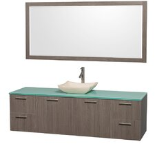 "Amare 72"" Single Bathroom Vanity Set"