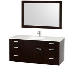 "<strong>Wyndham Collection</strong> Encore 52"" Single Bathroom Vanity Set"