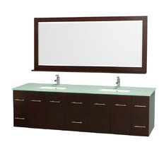 "Centra 80"" Bathroom Vanity Set with Double Sink"