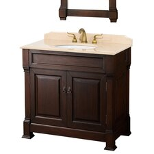 "<strong>Wyndham Collection</strong> Andover 36"" Bathroom Vanity Set"