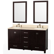 "Abingdon 61"" Double Vanity Set"