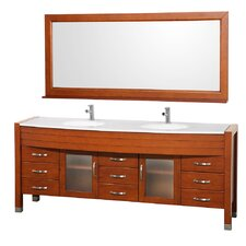 "Daytona 77.88"" Double Vanity Set"