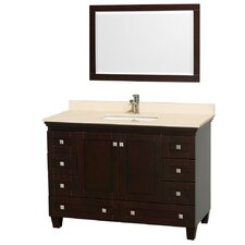 "<strong>Wyndham Collection</strong> Acclaim 48"" Single Bathroom Vanity Set"