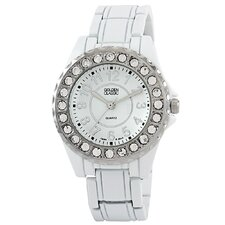Women's Time's Up Watch in White