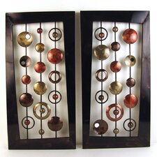 <strong>Firefly Home Collection</strong> 2 Piece Wall Décor Set