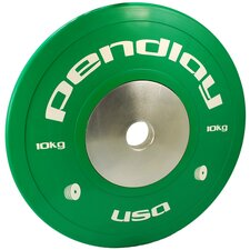 <strong>Pendlay</strong> 10kg Elite Color Bumper Plates (Set of 2)
