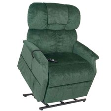 Comforter Extra Wide Dual Motor Tall 3 Position Lift Chair with Head Pillow