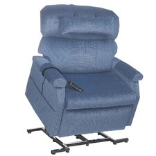 Comforter Extra Wide Heavy-Duty Infinite Position Lift Chair with Head Pillow