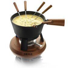 <strong>Boska Holland</strong> Cast-Iron Cheese Fondue Pro