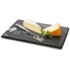 Dutch Design Slate Cheesy Tray
