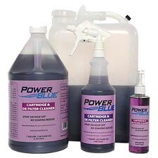 Power Blue Instant Spray Cartridge and DE Filter Cleaner