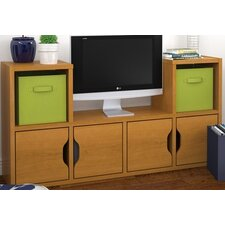 Generation TV Stand with 4 Doors and 4 Baskets