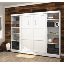 "Pur 108.63"" Full Storage Murphy Bed Kit"