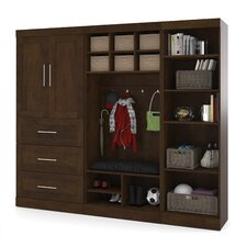 "Pur 18.25"" Deep Mudroom Storage Unit Kit"