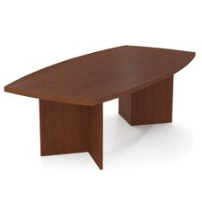 "<strong>Bestar</strong> 4' X 8' Conference Table - 1.75"" Thick Top"