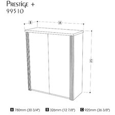 "<strong>Bestar</strong> Prestige + 2 Doors Cabinet For 30"" Lateral File"
