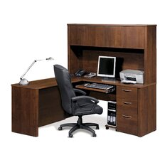 Embassy L-Shape Desk Office Suite