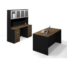 Pro-Concept 3-Piece Standard Desk Office Suite