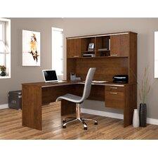 Flare L-Shape Executive Desk Office Suite
