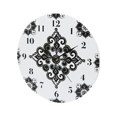 Versailles Black and White Wall Clock