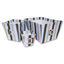 Max Fabric Storage Bins in Stripes
