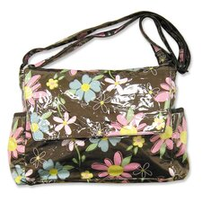 <strong>Trend Lab</strong> Blossoms Messenger Diaper Bag