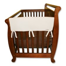 "2 Pack of 27"" Natural Fleece Side Crib Rail Cover"