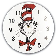 Dr Seuss Cat in the Hat Wall Clock