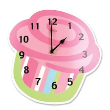 <strong>Trend Lab</strong> Cupcake Wall Clock
