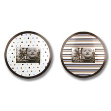 Circle Picture Frame (Set of 2)