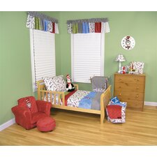 <strong>Trend Lab</strong> Dr Seuss Cat in The Hat 4 Piece Toddler Bedding Set