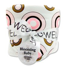 Bubblegum Blooming Bouquet Hooded Towel