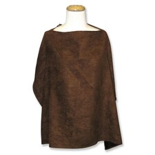 Nursing Cover in Brown Ultra suede
