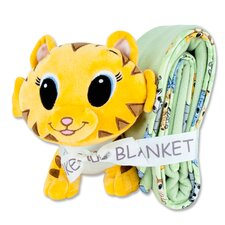 Chibi Blanket and Tiger Buddy Gift Set