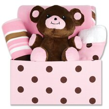 <strong>Trend Lab</strong> Maya Dot 5 Piece Box Gift Set
