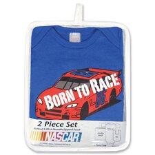 Nascar 2 Piece Gift Set Born To Race (0-3 Months)