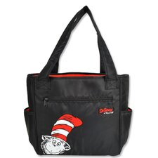 <strong>Trend Lab</strong> Dr Seuss Cat in the Hat Tulip Tote Diaper Bag